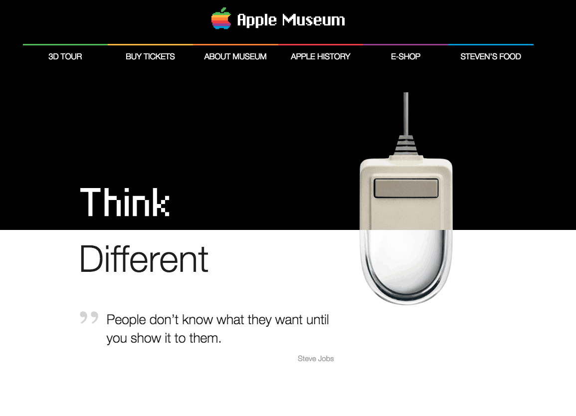 Apple Museum Website