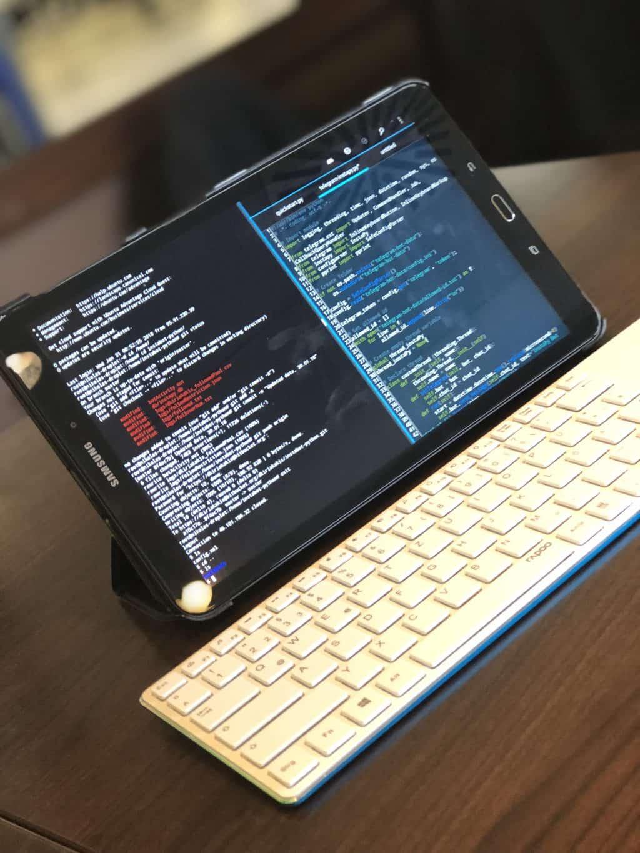How to turn your android tablet into a devstation | Kiriakakis com